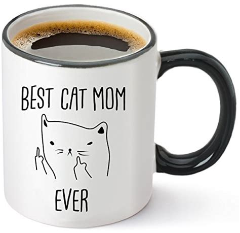 best cat mom ever mug top 50 womens birthday gifts