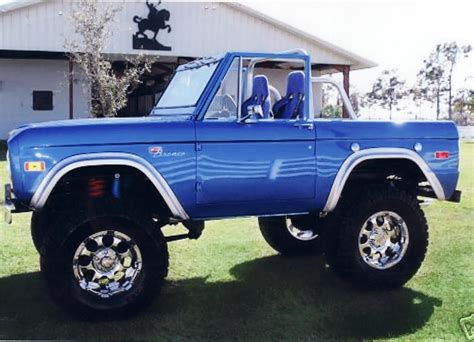 1974 Ford Bronco Convertible 71096