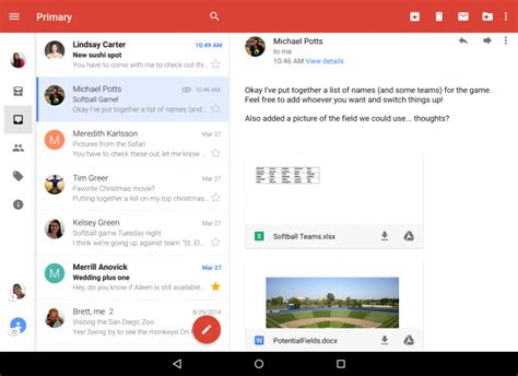 gmail android gmail for android now shows different accounts in one inbox