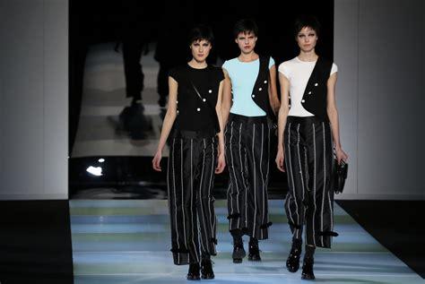 Milan Fashion Week Day Up by Milan Fashion Week 2014 Armani And Versace Put Opulent