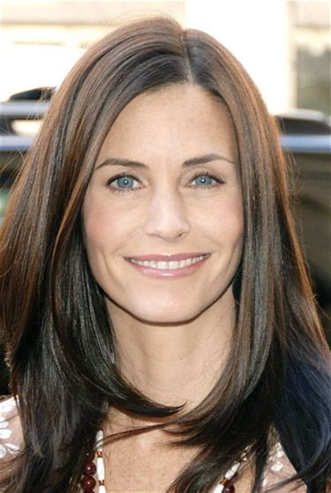 hairstyles through the years courtney cox hairstyles through the years short