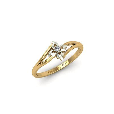 gold engagement rings for with names engraved