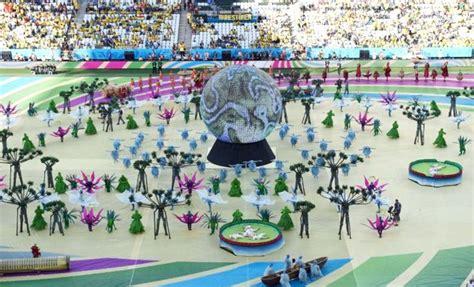 Pesta Bola 2014 Brazil Oryza A Wirawan foto kemeriahan pesta pembukaan piala dunia 2014 foto 18 dari 37