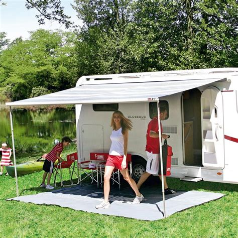 F45s Fiamma Awning by Fiamma F45s Polar White Winch Awning Leisure Outlet