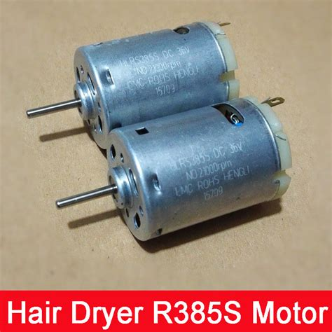 Hair Dryer Motor Voltage hair dryer blower 12 36v r385s dc motor high speed strong