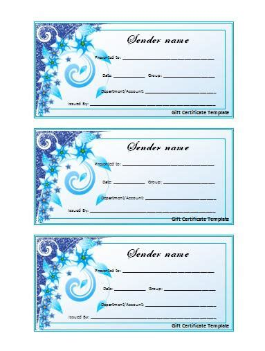20 elegant birthday gift certificate template birthdays wishes
