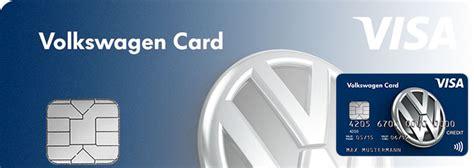 vw bank kreditkarte volkswagen bank visa kreditkarte