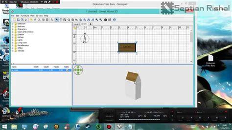 membuat rumah tingkat sweet home 3d cara membuat atap di sweet home 3d youtube