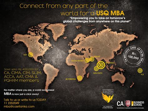 Usq Mba Project Management by Australian Mba From Of Southern Queensland In