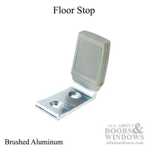 Floor Stop by Floor Stop Brushed Aluminum 2 11 16 Inch