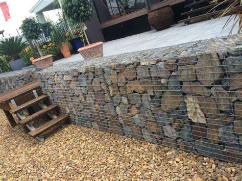 Gabion Retaining Wall How To Build Gabion Walls Gabion Gabion Garden Wall