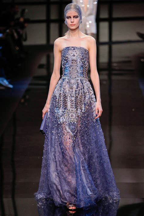 Armani Brings Haute Couture To Masses by Armani Priv 233 Haute Couture 2014 Collection Fab