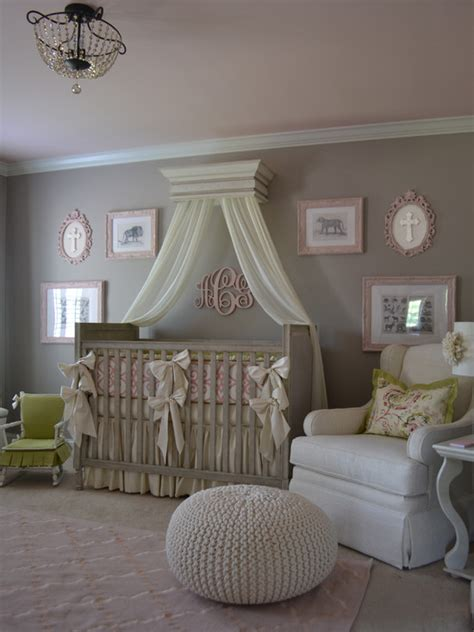 bedroom design engaging traditional baby nursery ideas with white padded armchair also