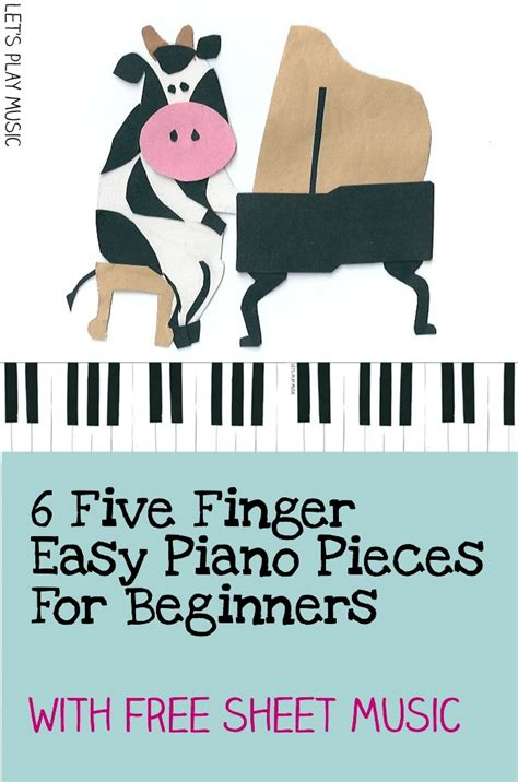finger piano pieces  beginners lets play