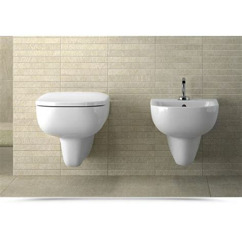 vaso igienico pozzi ginori sanitari sospesi raggio con sedile wc
