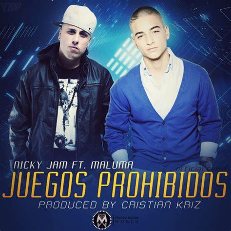 nicky jam maluma nicky jam ft maluma juegos prohibidos official remix