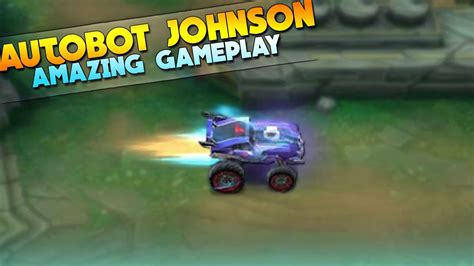 mobile legends autobot johnson insane gameplay youtube