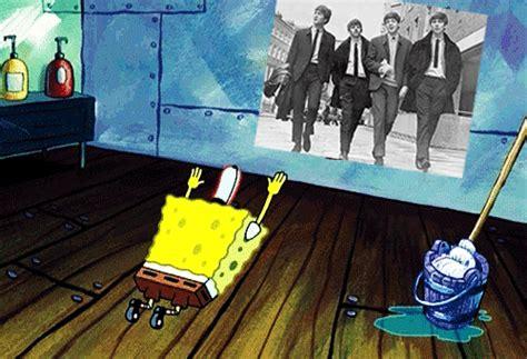 the beatles spongebob spongebob squarepants paul mccartney lennon ringo george