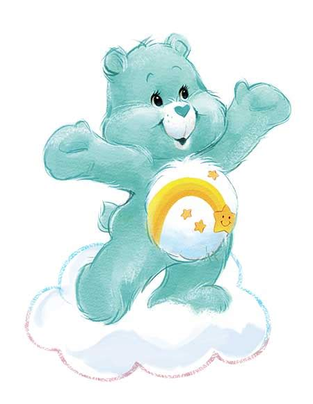 Ezpz Care Bears Mat In Teal care bears mats bowls by ezpz all in one silicone