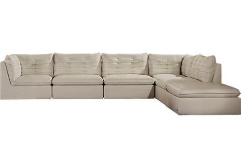 sofia vergara sofa sofia vergara valleta white 6 pc sectional sectionals
