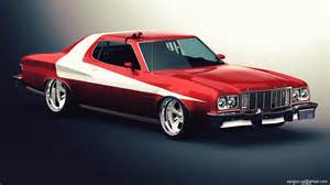 ford gran torino studio by sergoc58 on deviantart