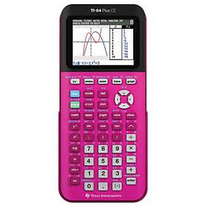 color graphing calculator instruments ti 84 plus ce color graphing calculator