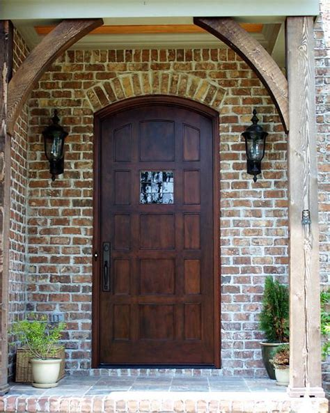 pictured   country french segment top exterior wood