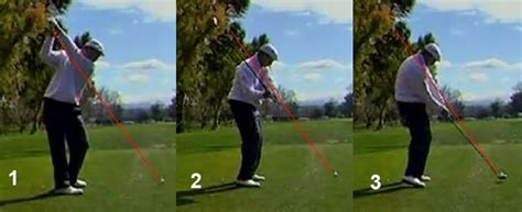 steep golf swing steep swing actions newton golf institute