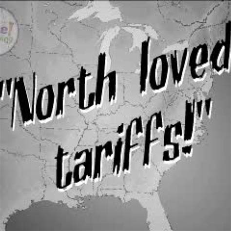 The tariff of abominations teachertube