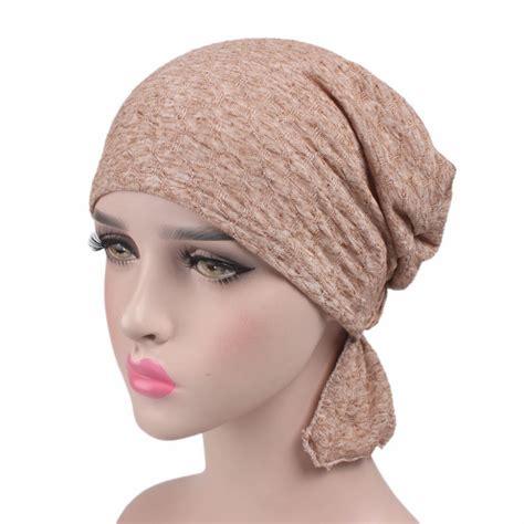 chemo hat stretchy beanie headscarf turban headwear
