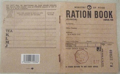 world war 2 identity card template ration cards world war 2