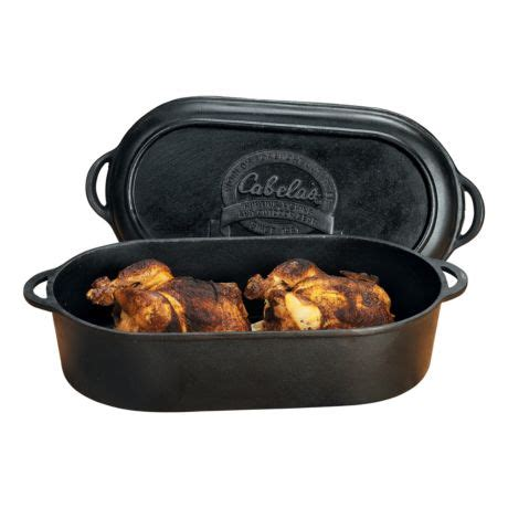 Home Decor Stores Ottawa Cabela S Outfitter Series Cast Iron Oval Roaster Griddle