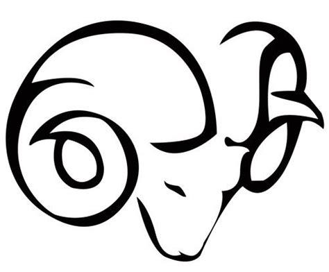tribal ram stencil design tattoowoo tattoos 10 ideas about aries ram on ram