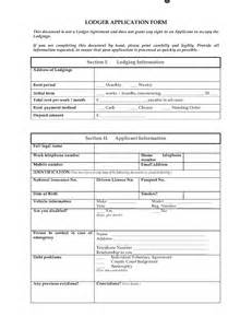 Free Lodger Agreement Template uk lodger application form legal forms and business