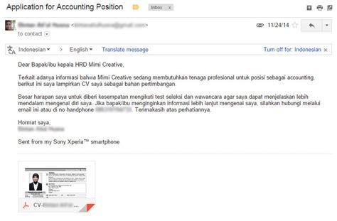 5 tips singkat mengirim lamaran kerja melalui email
