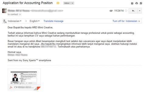5 tips singkat mengirim lamaran kerja melalui email haqqi dot net