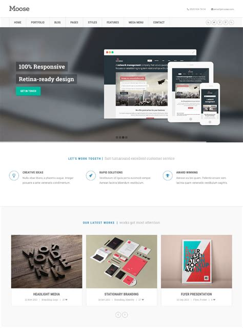 responsive stylesheet template how to make responsive business websites with templates