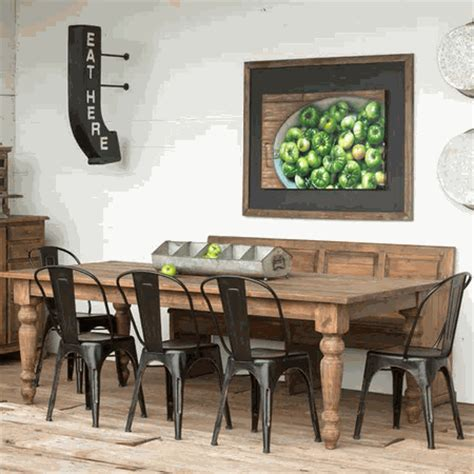 park hill collection pine farm table nb236