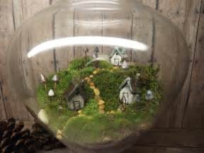 beautiful miniature landscape large live moss terrarium
