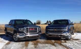 2016 chevy silverado 5 3l v8 vs 2016 gmc 6 2l v8