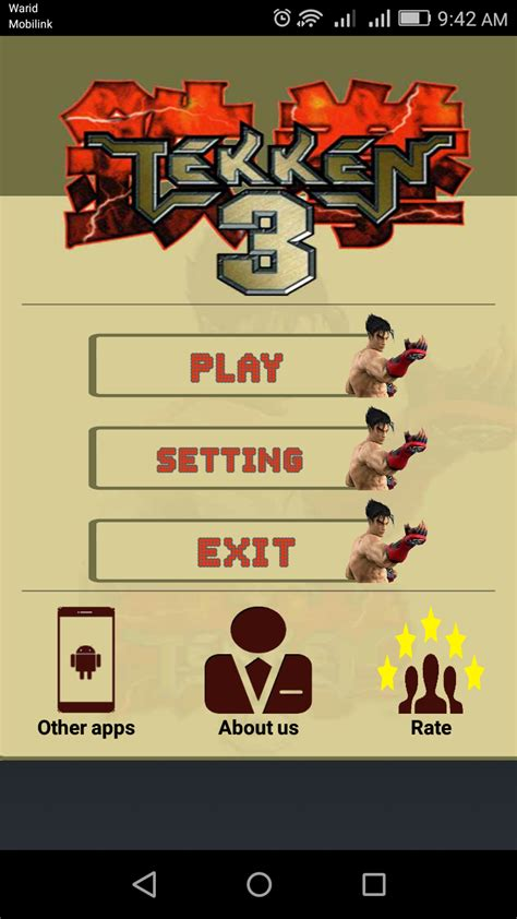 tekken 3 for android apk free tekken 3 android free apk file free serial numbers