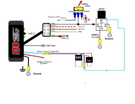 nitrous related wiring diagram get free image about