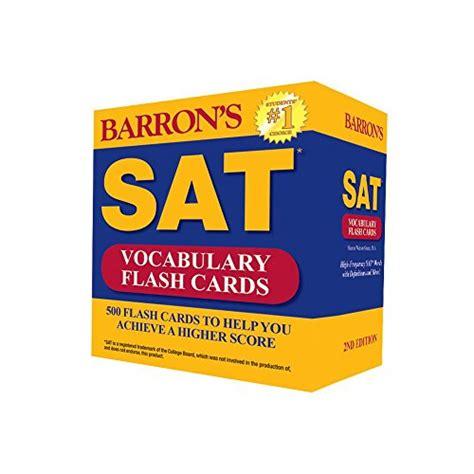 barron s asvab flash cards 2nd edition barron s sat vocabulary flash cards 2nd edition 500