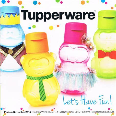 Katalog Tupperware Promo katalog tupperware promo dan activity bulan november 2015