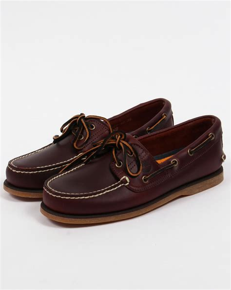 timberland boat shoes timberland 2 eye classic boat shoes rootbeer deck sailing mens