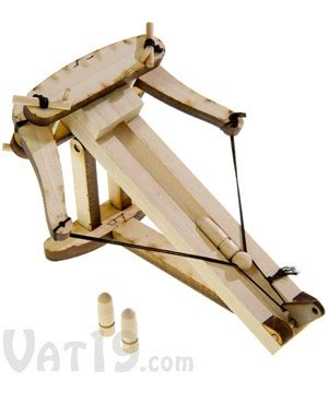 diy kits diy wooden ballista kit create your own model of roman