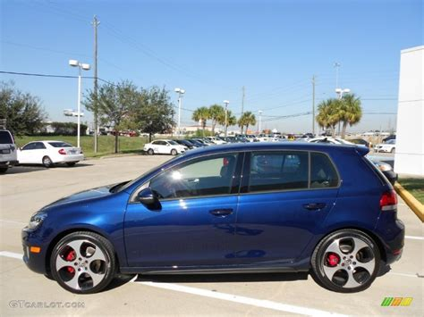 volkswagen gti blue shadow blue metallic 2012 volkswagen gti 4 door exterior