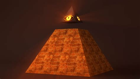 illuminati eye pyramid 4k all seeing eye of god the eye of providence pyramid