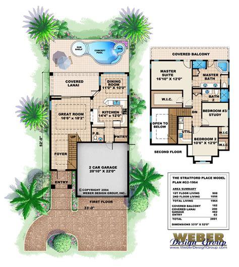skinny houses floor plans mediterranean house plan narrow lot 2 story mediterranean floor plan