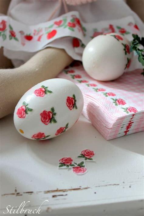 Easter Decoupage - napkin decoupage decoupage and easter eggs on